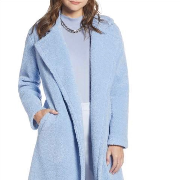 wholesale dealer on feet at shop best sellers Something Navy Teddy Bear Coat